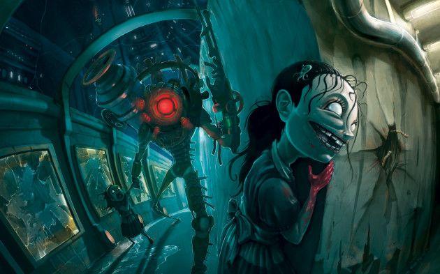 primera entrega de Bioshock bajo el motor Unreal 4 de Epic