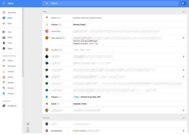 Google testea rediseño total de Gmail