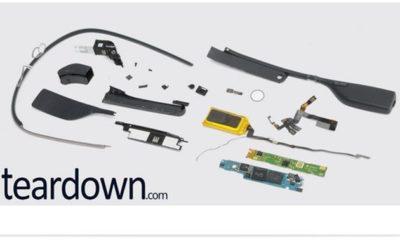 Los componentes de Google Glass cuestan sólo 80 dólares 40