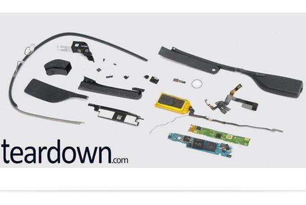 Los componentes de Google Glass cuestan sólo 80 dólares