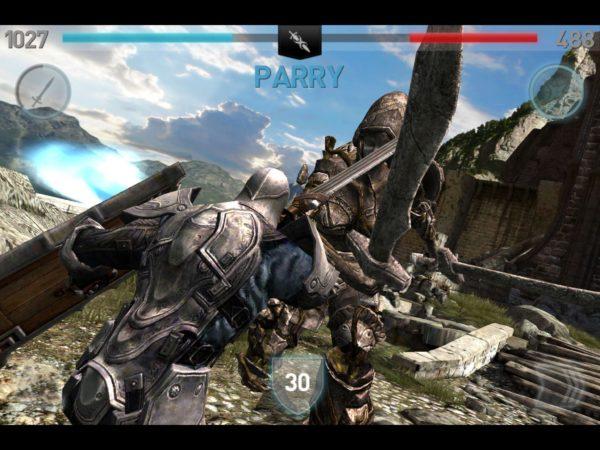 Infinity Blade II gratis por tiempo limitado en la App Store