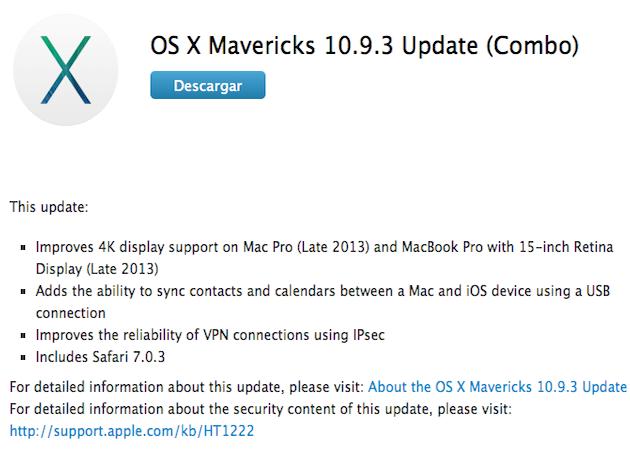 Mavericks 10.9.3