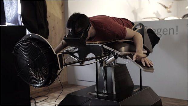 Oculus Rift Birdly Simulator
