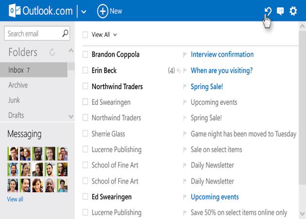 Outlook.com estrena nuevas características: reglas avanzadas y chat