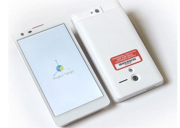 Tablet 3D Google bajo el proyecto 'Tango'