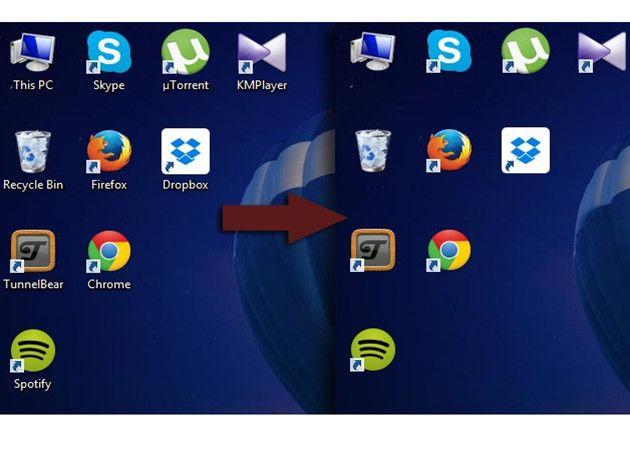 C mo quitar el nombre de los accesos directos en windows - Iconos para escritorio windows ...