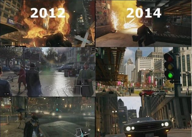 comparativa de Watch Dogs