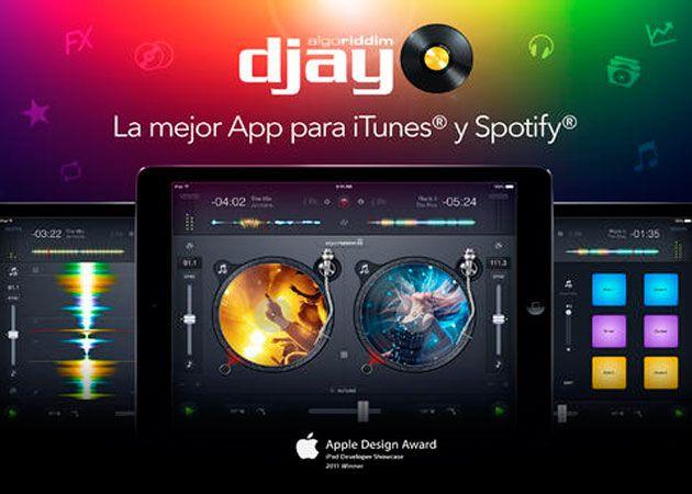 djay 2 para iOS, compatible con 20 millones de canciones en Spotify