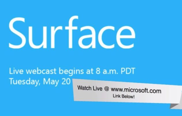 evento Surface de Microsoft