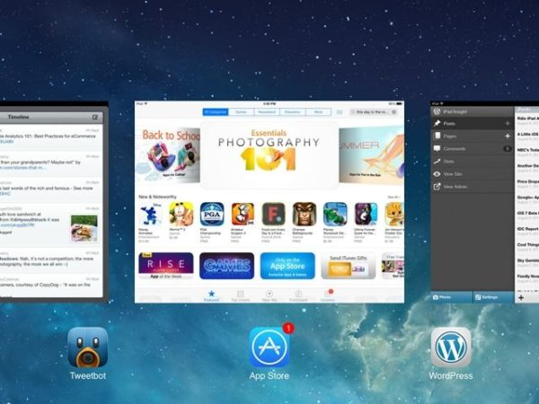 multitarea real en iOS 8