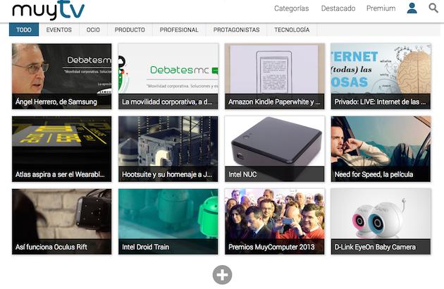 Bienvenidos a MuyTV, la plataforma audiovisual de Total Publishing