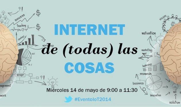 """Evento TPnet: """"Internet de (todas) las cosas"""", el 14 de mayo"""
