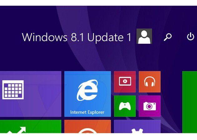 parches en Windows 8.1 Update 1
