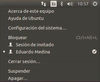 Apagado de Ubuntu