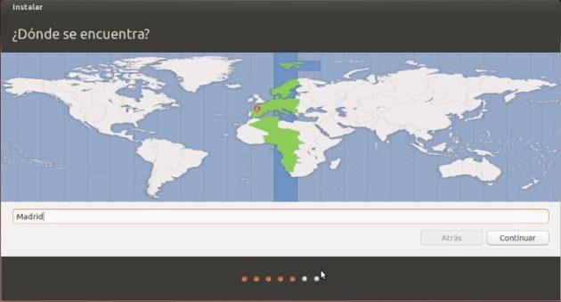 Horario en Ubuntu