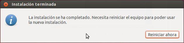Reiniciar Ubuntu