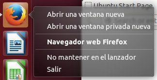 Mozilla Firefox en Unity