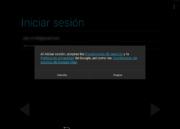 Aceptar condiciones de servicio de Google en Android x86