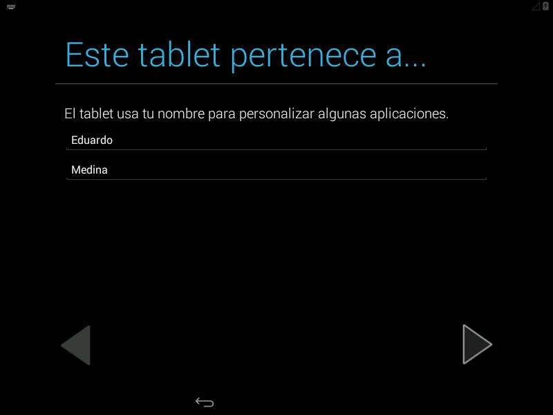 Nombre del dueño del equipo en Android x86