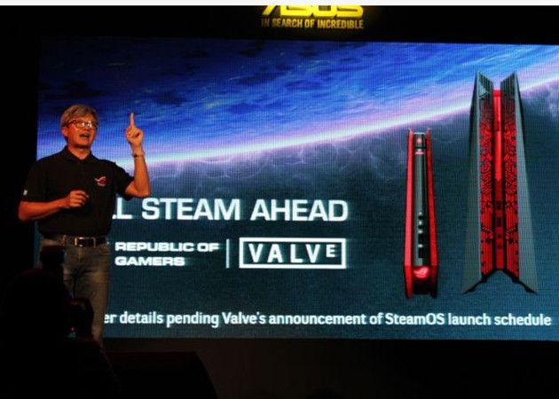 ASUS Steam Machines, otro gran socio para Valve