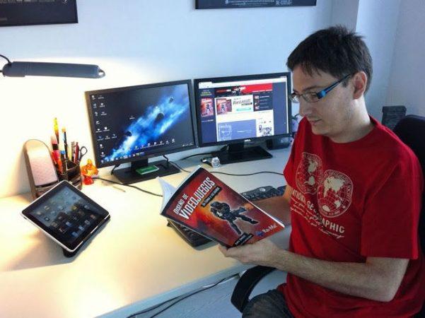 Ya disponible el libro Arte de Videojuegos: da forma a tus sueños