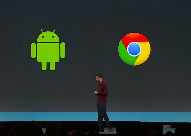 Chrome OS y Android en Google I/O