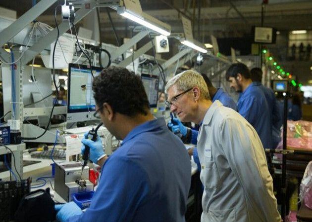 Tim Cook muestra que Apple necesita Windows para fabricar los Mac Pro