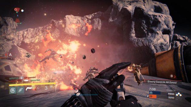 Destiny correrá a 1080p y 30 FPS