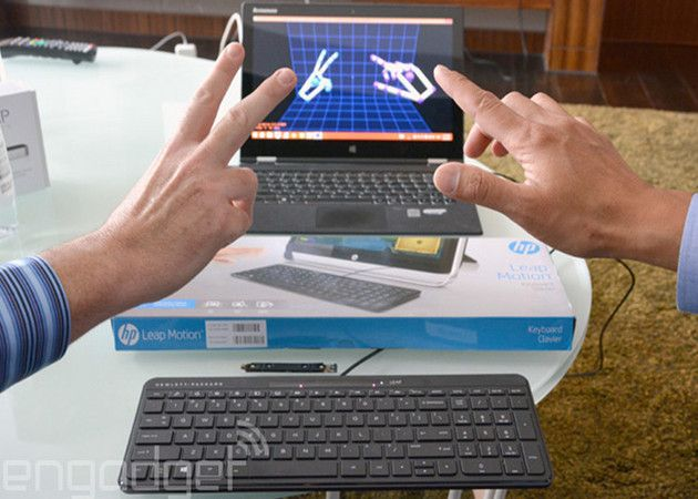Teclado HP Leap Motion para PCs Windows