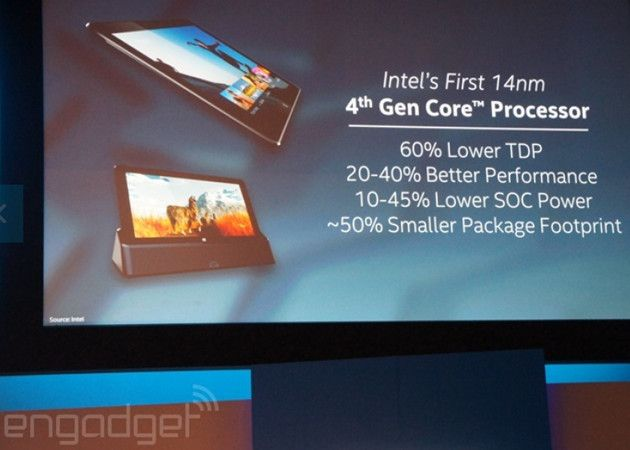 Intel Core M, procesadores de 14 nm para tablet