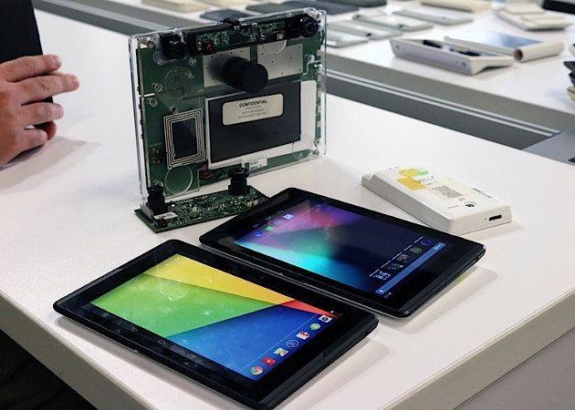 Google presenta una tablet que integra una tecnología similar a Kinect