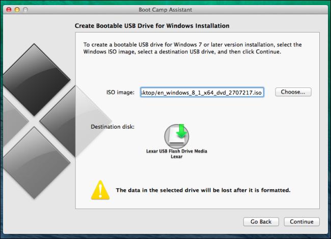 Burn ISO in Mac OS X