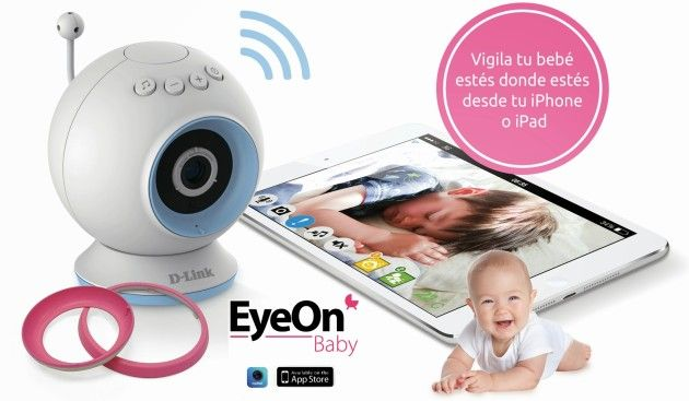 D-Link sortea tres Vigilabebés EyeOn Baby Camera