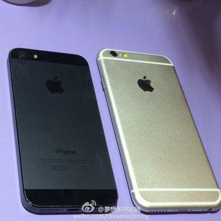 la filtración del iPhone 6 es auténtica