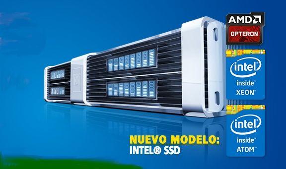 Servidores dedicados de 1&1 con procesador AMD Opteron