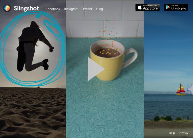 """Ya puedes probar Slingshot, la app de """"mensajería efímera"""" de Facebook"""