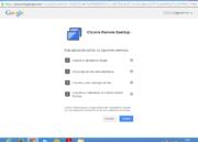 Cómo usar Chrome Remote Desktop 34