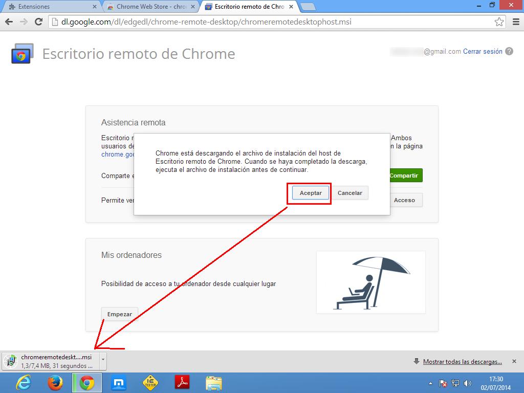 Descargar host para Windows