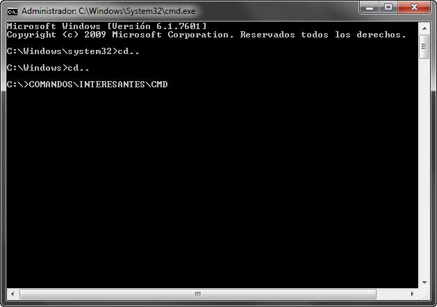 Comandos CMD, la consola de Windows también existe