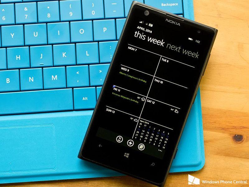 Actualización genera error en Calendar de Windows Phone 8.1 29
