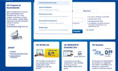 Cómo crear una web con 1&1 Mi Web (IV): Soluciones de correo 52