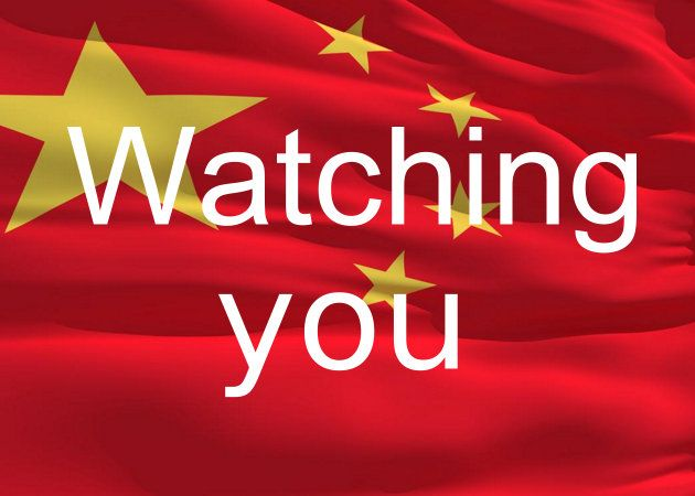 China is watching you