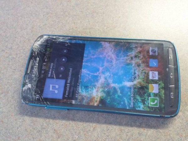 Galaxy S4 Active que sobrevive