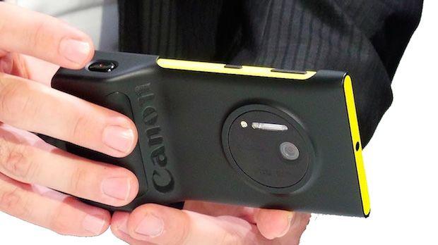 Los próximos Lumia podrían utilizar lentes de Canon