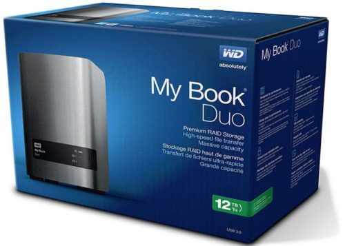 WD My Book Duo con 12 TB