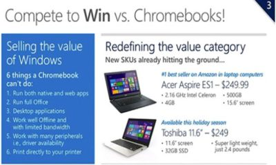 Microsoft cerca a los Chromebooks con portátiles Windows ultraeconómicos 88