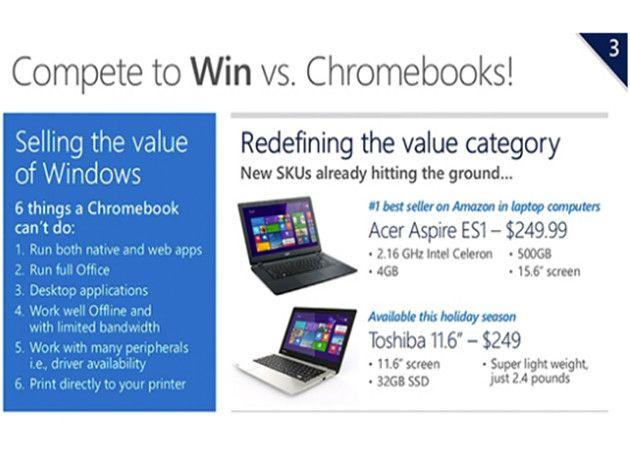 Microsoft cerca a los Chromebooks con portátiles Windows ultraeconómicos 27