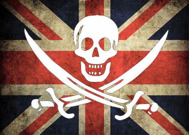 Piratería en Reino Unido