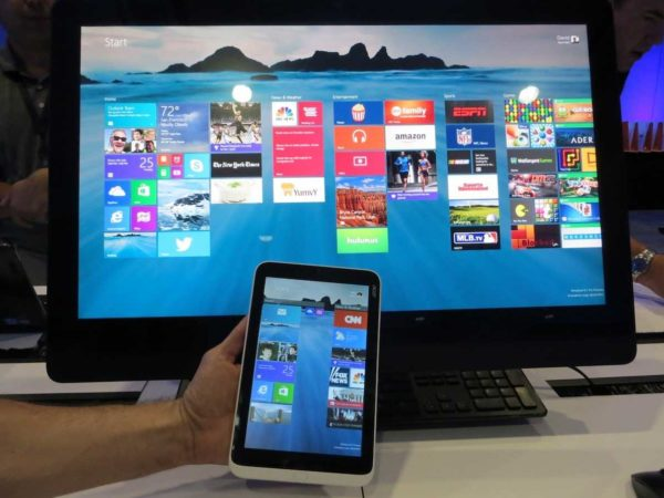 Windows 8.1 vía software