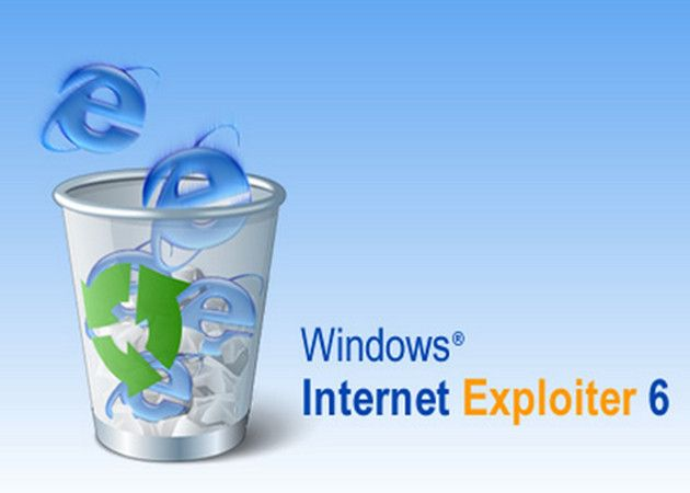 Destierra Internet Explorer si usas Windows XP